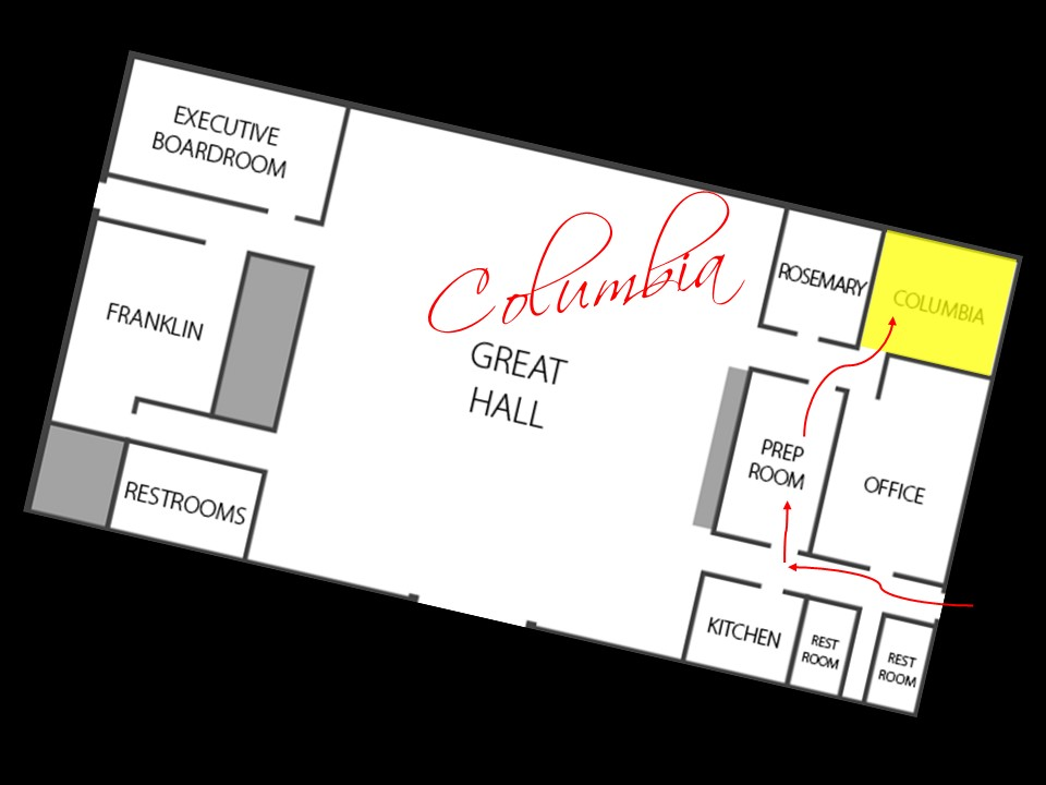 Columbia Meeting Room Floorplan